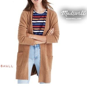 Madewell Soft & Cozy Kent Longline Cardigan🎉Sm